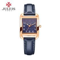 954JA石英机芯手表时尚防水复古女日韩腕表2016聚利时Julius包邮