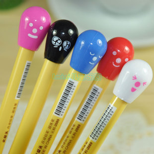 South Korea creative stationery wholesale fresh and lovely match ballpoint pen office school supplies for children