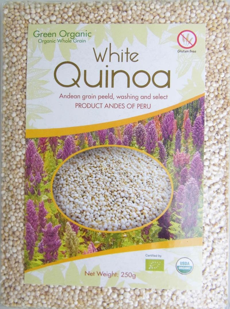 包邮秘鲁进口高品质白藜麦Quinoa250g藜麦米