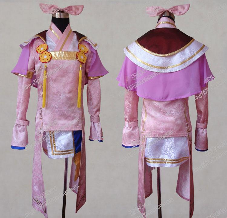 游戏服 战国无双 阿市cos衣服动漫cosplay服装全套古包邮
