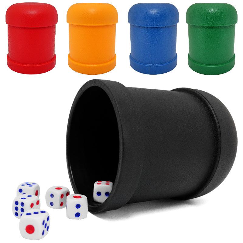 Вручную сито чашка игра в кости чашка бар пробка полночь магазин качели чашка пластик цвет чашка прямо бросание игра в кости костюм отправить 6 цвет сын