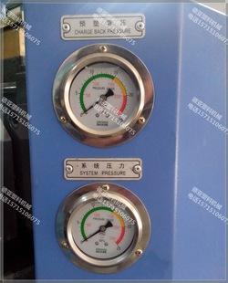 注塑机压力表不锈钢耐震压力表轴向带边0 25Mpa油压表注塑机配件