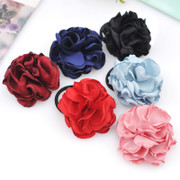 Love mail jewelry Korea Bohemian flower rubber band hair band hair rope ring flower hair band hair accessories