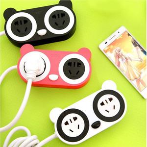 特价创意插座带usb卡通可爱小插座带开关 接线板 排插手机充...