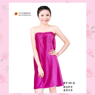 Faji Mu beautician clothing high end beauty bath skirt skirt Lingerie Body beauty salon overalls E04
