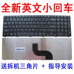 7560键盘7741Z 5810笔记本键盘 ACER宏基星锐5750G键盘 5733Z 5742G 5741 5560g 宏碁5439 MS2309 7750g