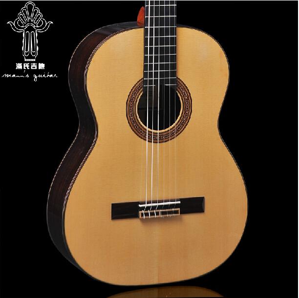 满氏 精品手工 古典吉他MC250云杉/红松玫瑰木全单板琴 正品包邮
