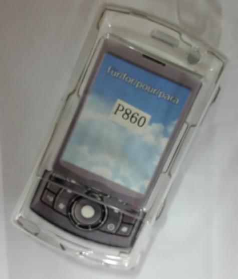 全新优质 HTC/多普达 P860 水晶壳 透明壳 手机保护壳 专用型号