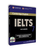 CAMBRIDGE IELTS 7(附光盤)OFFICIAL EXAMINATION PAPERS FROM