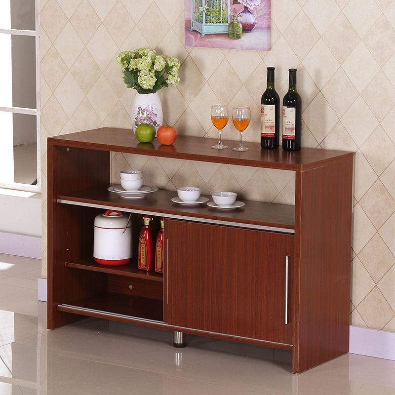 餐邊櫃簡約 推拉門廚房櫃儲物櫃碗櫃邊櫃酒櫃餐廳客廳茶水櫃