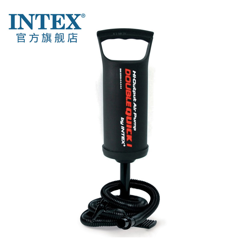 INTEX ручной насос 68612/68614 эффективный поощрять газированный ручной насос насос на открытом воздухе газированный использование