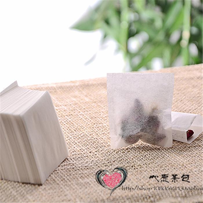 包邮500个/60*65mm热封/一次性茶包袋/泡茶袋/空茶袋/咖啡袋