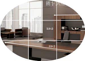 上海办公家具高档老板桌总裁桌椅组合  大班台创意主管经理桌特价