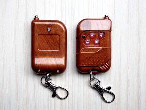 固定编码拨码电动门 车库门 卷帘门 翻板门遥控器钥匙315/433MHz