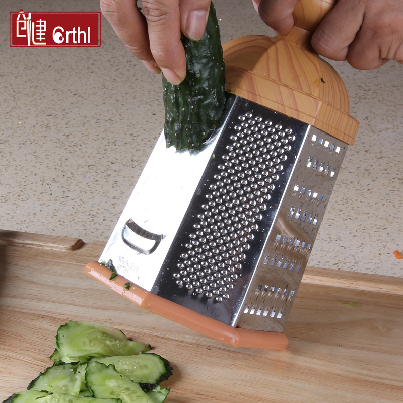 創健六麵立式刨磨器 多 切菜器土豆切絲切片器刨瓜削皮器