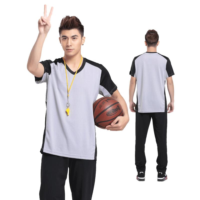 Лето Стили рефери одежды t рубашка баскетбол рефери одежда рефери рубашку оборудование мужские короткие печати, печать