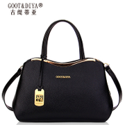 2015 leather women bag handbag brand new trend for fall/winter cowhide shoulder bag lady bag