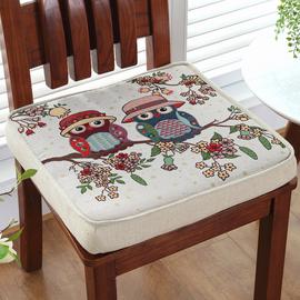 冬季防滑加厚海绵椅子坐垫学生餐椅坐垫汽车增高硬坐垫客厅椅子垫图片