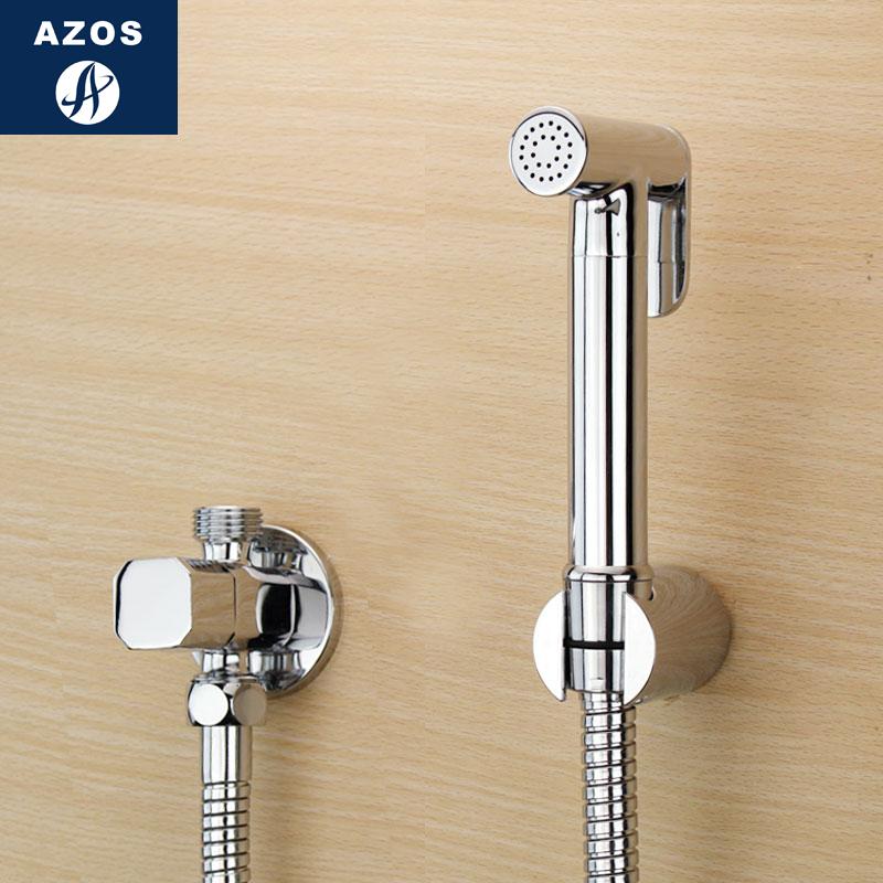 Германия AZOS многофункциональный туалет клапан все медь туалет угол краскопульт установите чистый орган смешивать клапан женщина стиральная машина