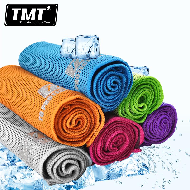 TMT冰巾 冷感毛巾韓國魔幻降溫一甩就冰男女 加長