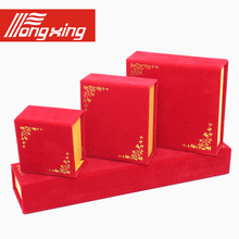 With flowers to plant flannelette first jewelry box jewelry wholesale do Logo ring pendants bangle bracelet boxes