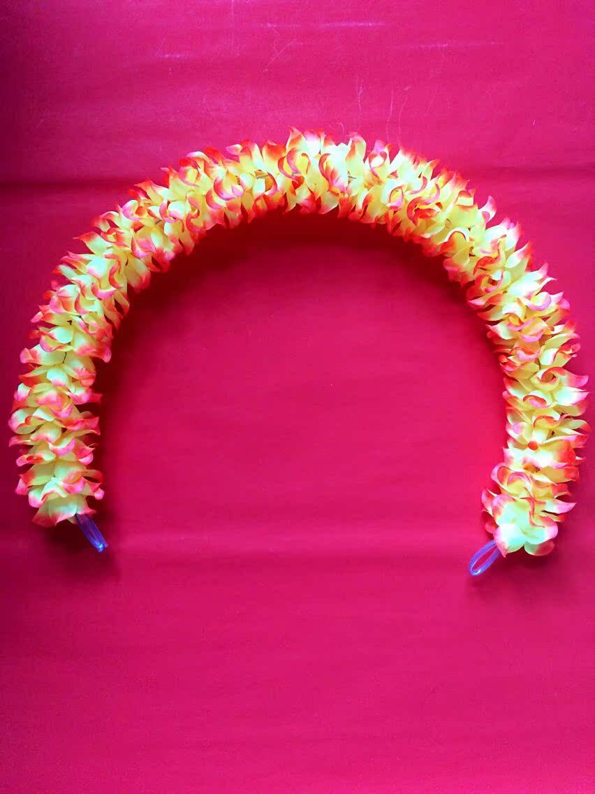 Погалстук-бабочкаруг форма провод гирлянда танец гирлянда цветок упражнение движение может реквизит ткань система гирлянда красный и желтый