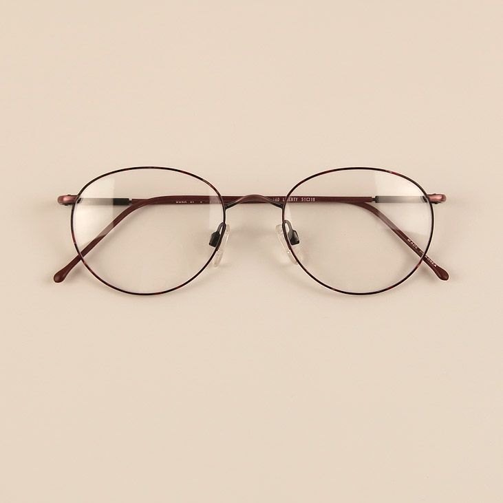ff79fdeb87 Japan s ultra-light metal alloy thin edge full frame glasses frames myopia  retro round rimmed. Loading zoom