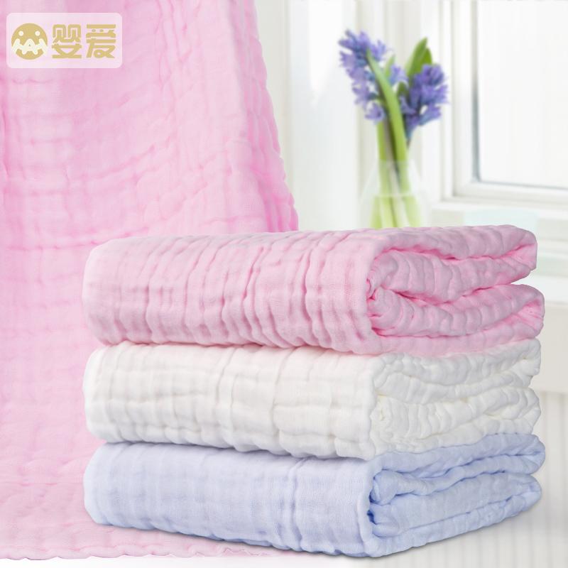Младенец любовь ребенок полотенце хлопок 6 слой марли полотенце крышка одеяло новая весна и лето рожденные дети ребенок ребенок полотенце кондиционер был