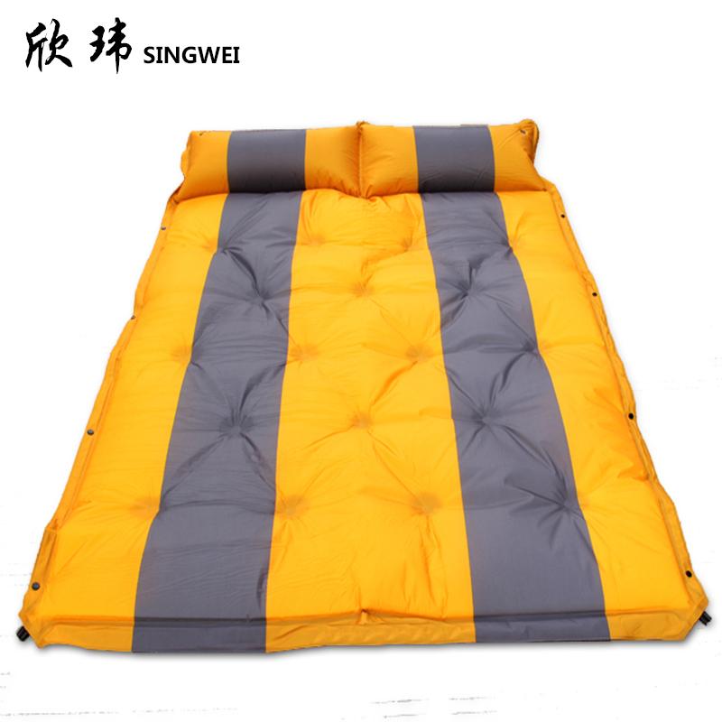 欣瑋戶外野餐墊防潮墊加厚加寬單雙人午睡墊5cm帳篷墊自動充氣墊