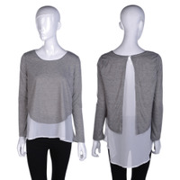 Autumn Spring Tops New Design Womens Casual Pullovers Thick