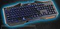 优派(ViewSonic) X2 魔器帝国系列背光游戏竞技键盘USB