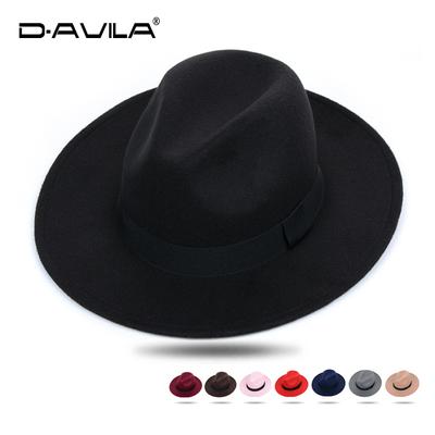 上海滩帽子男女英伦复古礼帽新郎官结婚帽韩版潮绅士大檐宽檐帽子