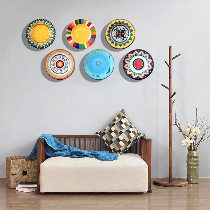 大号欧式挂盘餐厅装饰盘墙壁装饰新房房装饰家庭软装壁饰照片墙