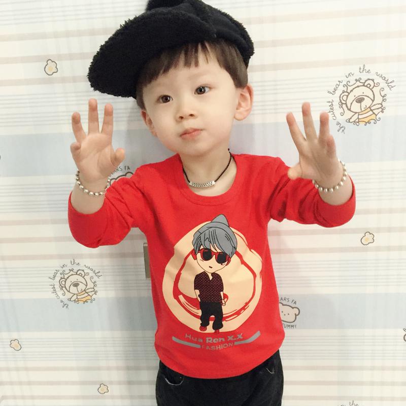 兒童 男童純棉打底衫