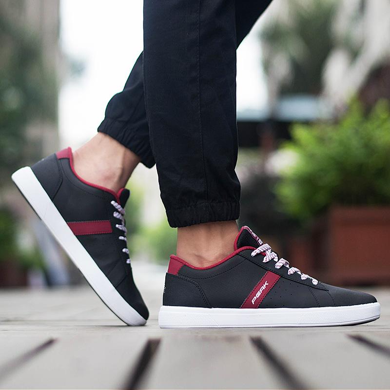 匹克板鞋男鞋小白鞋文化鞋 透氣網鞋 百搭 鞋滑板鞋