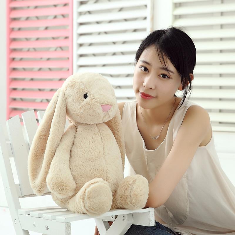 Кролика Плюшевая игрушка кукла подушку куклы для детей падение Bugs Bunny кукла девушки день рождения подарок девушке