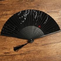 来图定制可以写字logo免费题字宣纸扇子折扇男女生古风中国风