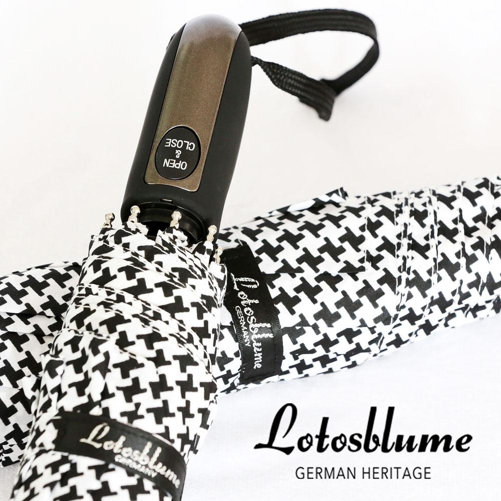 Германия lotosblume ржанки вентилятор принудительный автоматический tri-fold творческий бизнес, литераторы и женщины ясно зонтик
