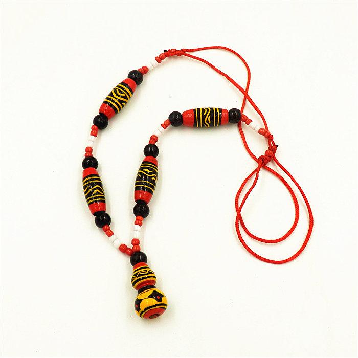Прохладно гора меньше количество ветер характеристика ремесла статья Чжао сон Yi гонка краски устройство тыква ожерелье подвески мода ожерелье женщина