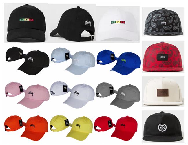 Stussy хип-хоп бейсбол cap утка язык солнца вдоль пару шляпы для мужчин и женщин летом 2015 лета Бент полями шляпы ЧАО