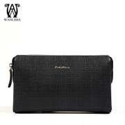 Wanlima/miles, spring 2016 Mall with clutch European fashion casual zipper clutch bag man