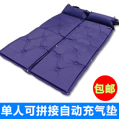 Автоматическая надувной подушки на открытом воздухе кемпинг сон одноместный коврик человек сращивание дикий rainfly парус влага офис комнатный полдень случайный сад