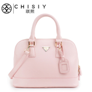 Qi XI women bag handbag large bag for 2015 and autumn new style leather shell bags medium ice cream candy
