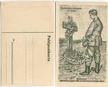 Germany in the 1910 s war soldiers at comrades grave military information and free