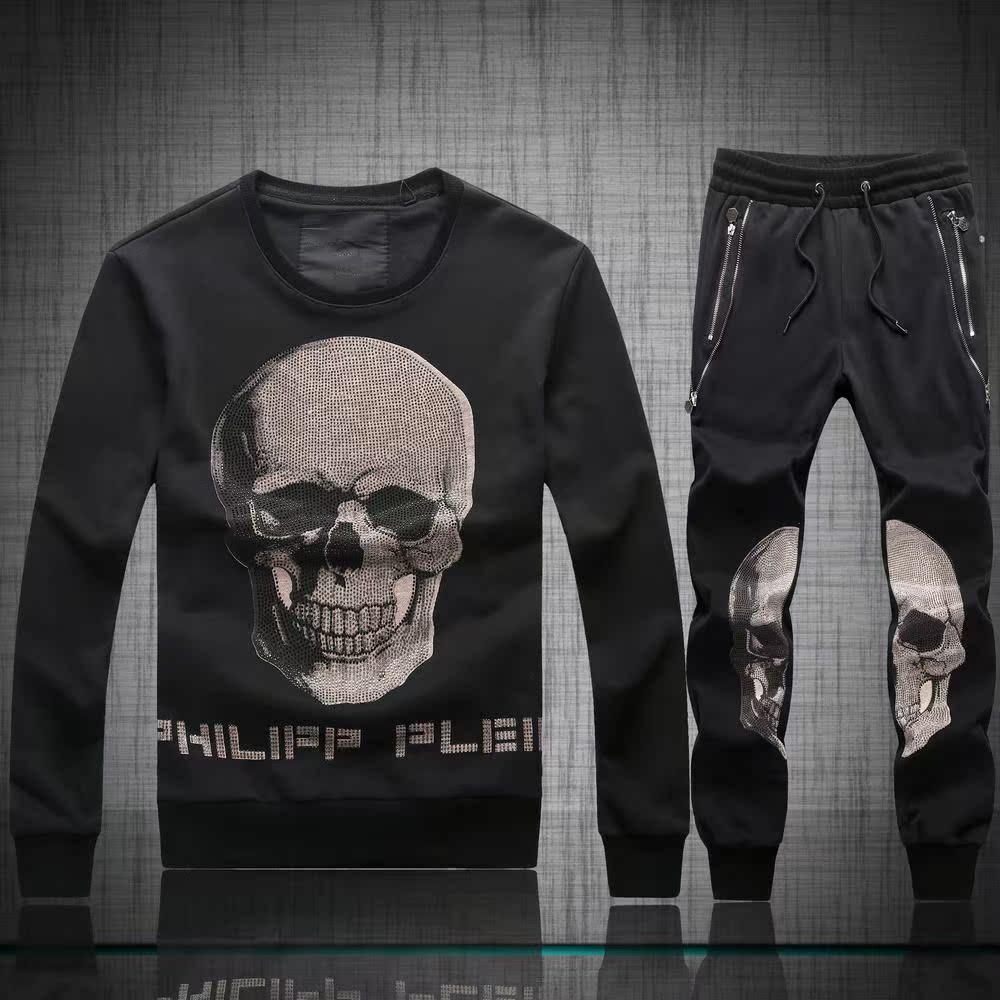 к 2015 году новых PHILIPP PLEIN мужской костюм Филипп · pulanchao прохладный черепа пота костюмы