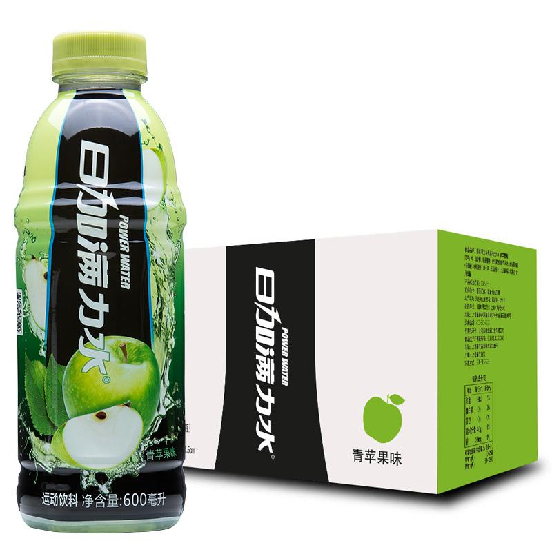 日加滿力水 飲料 青蘋果600ml~15瓶 新老 發貨
