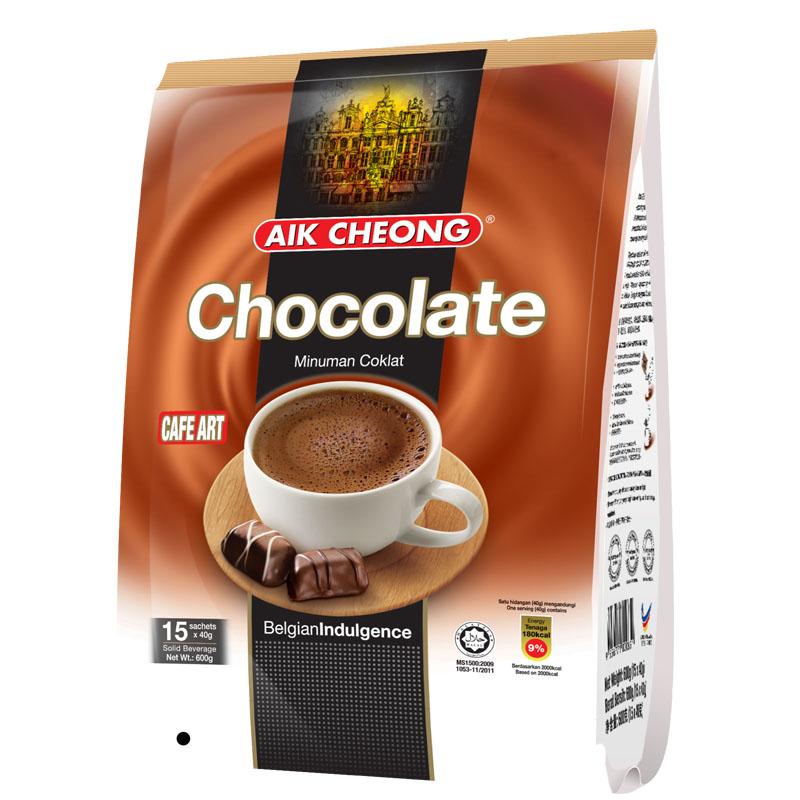 ~天貓超市~馬來西亞 益昌香滑巧克力600g(40g^~15包)