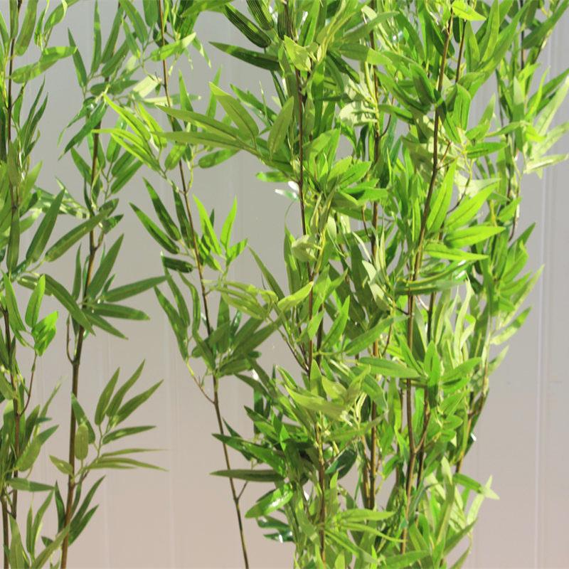 加密仿真毛竹 仿真竹子装饰 定制仿真竹子屏风隔断盆景造景假竹子