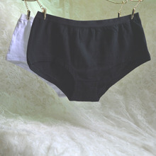 Article 3 packages mailed Europe and the United States foreign trade the original simple pure color boxer of ladies underwear soft comfortable cotton