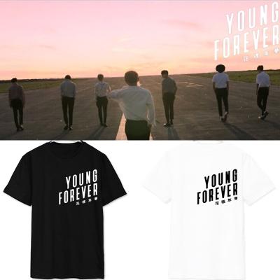 BTS防弹少年团part3花样年华Young Forever同款T恤短袖衣服应援女